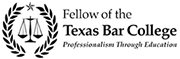 Fellow of the Texas Bar College Badge